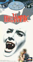 The Kiss of the Vampire Video Cover