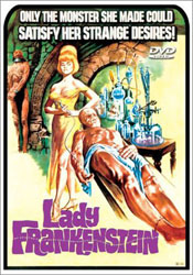 Lady Frankenstein Video Cover 1