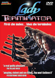 Lady Terminator Video Cover 1
