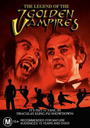The Legend of the 7 Golden Vampires Video Cover 1