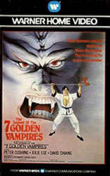 The Legend of the 7 Golden Vampires Video Cover 2