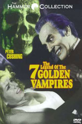 The Legend of the 7 Golden Vampires Video Cover 4