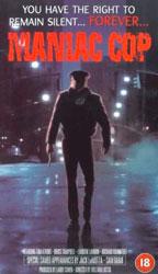 Maniac Cop Video Cover 1