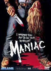 Maniac Video Cover