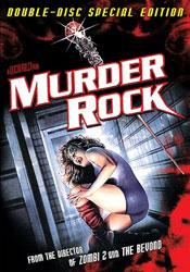 Murder-Rock: Dancing Death Video Cover