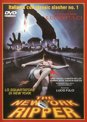 The New York Ripper Video Cover 1