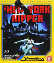 The New York Ripper Video Cover 2