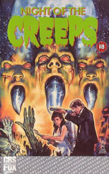 Night of the Creeps Video Cover 3