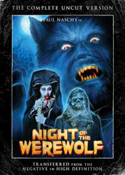 The Night of The Werewolf Video Cover
