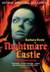 Nightmare Castle Video Cover 2