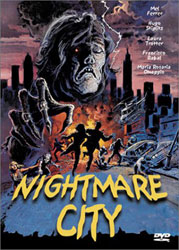 Nightmare City Video Cover 1