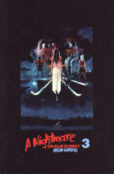 A Nightmare On Elm Street 3: Dream Warriors Video Cover 2