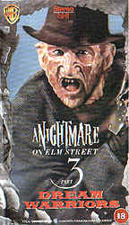 A Nightmare On Elm Street 3: Dream Warriors Video Cover 3