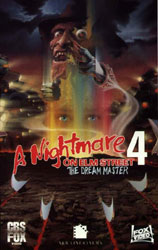 A Nightmare on Elm Street 4: The Dream Master Video Cover 2