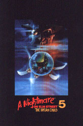 A Nightmare On Elm Street 5: The Dream Child Video Cover 2