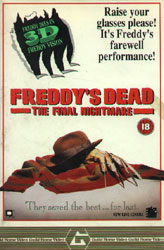 Freddy's Dead: The Final Nightmare Video Cover 3