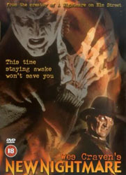 Wes Craven's New Nightmare Video Cover 2