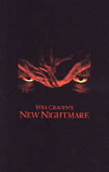 Wes Craven's New Nightmare Video Cover 3