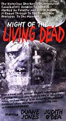 Night of the Living Dead Video Cover 8