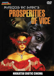 Marquis de Sade's Prosperities of Vice Video Cover