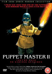 Puppet Master II Video Cover 3