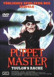 Puppet Master III: Toulon's Revenge Video Cover 3