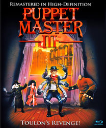 Puppet Master III: Toulon's Revenge Video Cover 4