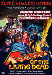 Raiders of the Living Dead Video Cover 1