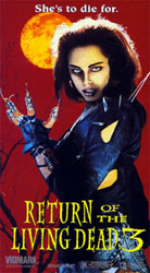 Return Of The Living Dead 3 Video Cover 2