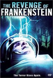 The Revenge Of Frankenstein Video Cover