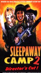 Sleepaway Camp II: Unhappy Campers Video Cover 3