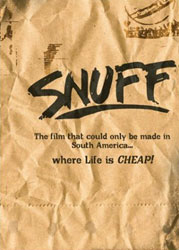 Snuff Video Cover