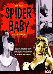 Spider Baby or, The Maddest Story Ever Told Video Cover 1