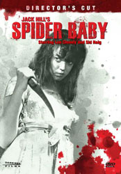 Spider Baby or, The Maddest Story Ever Told Video Cover 2