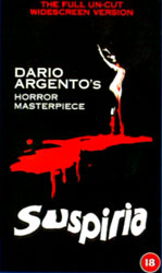 Suspiria Video Cover 4