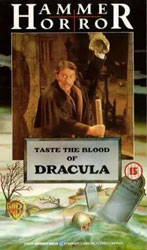 Taste the Blood of Dracula Video Cover 4