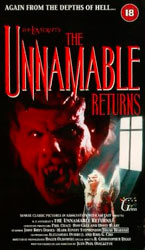The Unnamable II: The Statement of Randolph Carter Video Cover 1