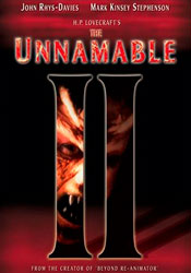 The Unnamable II: The Statement of Randolph Carter Video Cover 2
