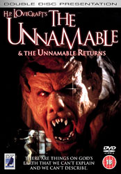 The Unnamable Video Cover 2
