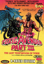 The Toxic Avenger Part III: The Last Temptation of Toxie Video Cover 2