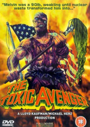 The Toxic Avenger Video Cover 2