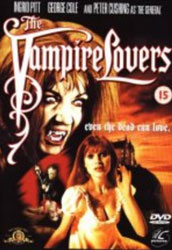 The Vampire Lovers Video Cover 2